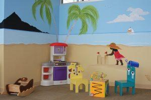 A Bright Future Pediatrics, Plano, Texas, Beach Mural