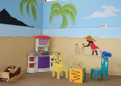 A Bright Future Pediatrics, Plano, Texas, Beach Mural