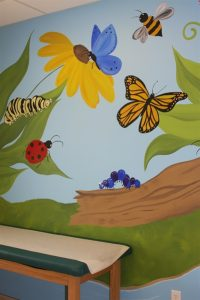 A Bright Future Pediatrics, Plano, Texas, Bugs Mural