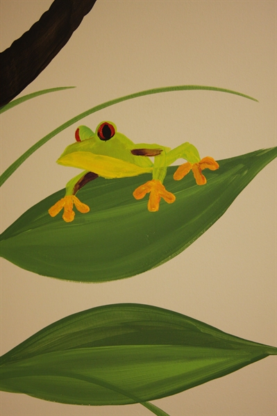 A Bright Future Pediatrics, Plano, Texas, Frog Mural