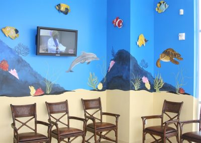 A Bright Future Pediatrics, Plano, Texas, Waiting Room