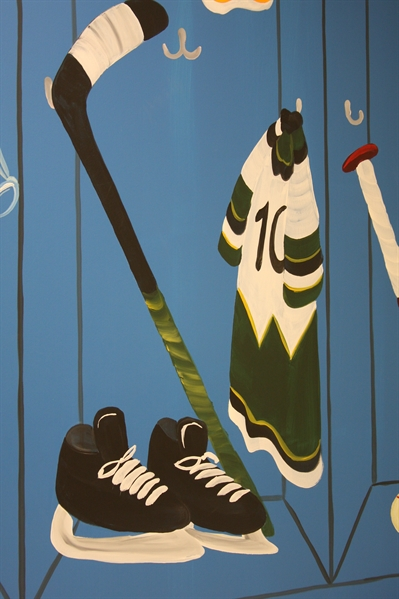 A Bright Future Pediatrics, Plano, Texas, Ice Hockey Mural