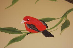 A Bright Future Pediatrics, Plano, Texas, Red Bird Mural