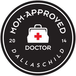 Dallas, Fort Worth, and North Texas Child Mom Approved Doctors in 2015