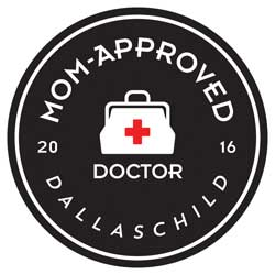 Dallas, Fort Worth, and North Texas Child Mom Approved Doctors in 2016